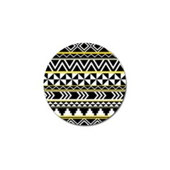 Black Bohemian Golf Ball Marker (10 Pack) by Brittlevirginclothing