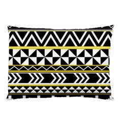 Black Bohemian Pillow Case (two Sides) by Brittlevirginclothing