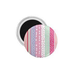 Pink Wood 1 75  Magnets by Brittlevirginclothing