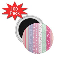 Pink Wood 1 75  Magnets (100 Pack)  by Brittlevirginclothing
