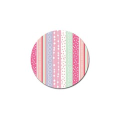 Pink Wood Golf Ball Marker (10 Pack) by Brittlevirginclothing