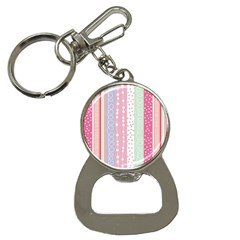 Pink Wood Bottle Opener Key Chains by Brittlevirginclothing