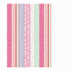 Pink Wood Small Garden Flag (two Sides) by Brittlevirginclothing