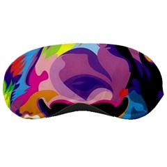 Colorful Lion Sleeping Masks by Brittlevirginclothing