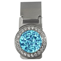 Blue Light Money Clips (cz)  by Brittlevirginclothing