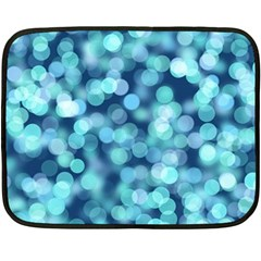 Blue Light Double Sided Fleece Blanket (mini)  by Brittlevirginclothing