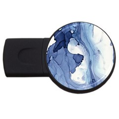 Paint In Water Usb Flash Drive Round (2 Gb) by Brittlevirginclothing