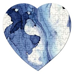 Paint In Water Jigsaw Puzzle (heart) by Brittlevirginclothing