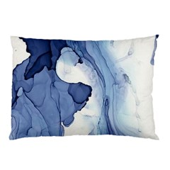 Paint In Water Pillow Case (two Sides) by Brittlevirginclothing