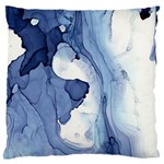 Paint in water Large Flano Cushion Case (One Side) Front