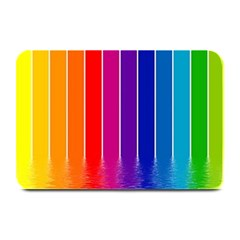 Faded Rainbow  Plate Mats by Brittlevirginclothing