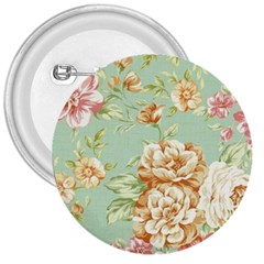 Vintage Pastel Flower 3  Buttons by Brittlevirginclothing