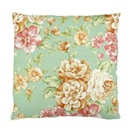 Vintage pastel flower Standard Cushion Case (One Side) Front