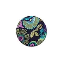 Dark Lila Flower Golf Ball Marker (10 Pack) by Brittlevirginclothing