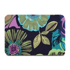 Dark Lila Flower Plate Mats by Brittlevirginclothing
