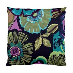 Dark Lila Flower Standard Cushion Case (one Side) by Brittlevirginclothing