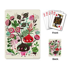 Cute Cartoon Playing Card by Brittlevirginclothing