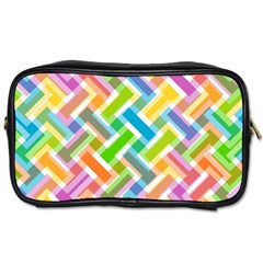 Abstract Pattern Colorful Wallpaper Toiletries Bags 2 Side by Amaryn4rt