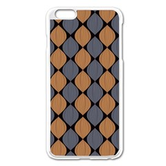 Abstract Seamless Pattern Apple Iphone 6 Plus/6s Plus Enamel White Case
