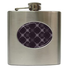 Abstract Seamless Pattern Hip Flask (6 Oz) by Amaryn4rt