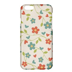 Abstract Vintage Flower Floral Pattern Apple Iphone 6 Plus/6s Plus Hardshell Case