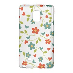 Abstract Vintage Flower Floral Pattern Galaxy Note Edge