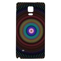 Artskop Kaleidoscope Pattern Ornamen Mantra Galaxy Note 4 Back Case