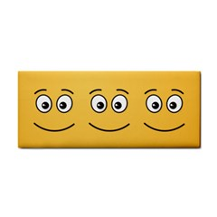 Smiling Face With Open Eyes Cosmetic Storage Cases by sifis