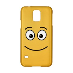 Smiling Face With Open Eyes Samsung Galaxy S5 Hardshell Case