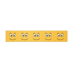 Smiling Face With Open Eyes Flano Scarf (mini) by sifis
