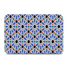 Background Pattern Geometric Plate Mats