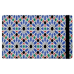 Background Pattern Geometric Apple Ipad 2 Flip Case by Amaryn4rt