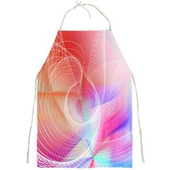 Background Nebulous Fog Rings Full Print Aprons by Amaryn4rt