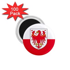Flag Of South Tyrol 1 75  Magnets (100 Pack)  by abbeyz71