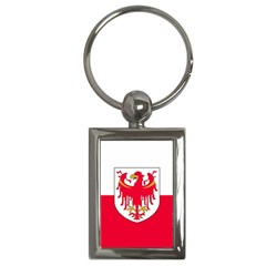 Flag Of South Tyrol Key Chains (rectangle)  by abbeyz71