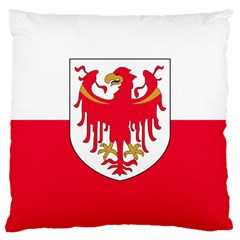 Flag Of South Tyrol Large Cushion Case (two Sides) by abbeyz71