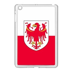 Flag Of South Tyrol Apple Ipad Mini Case (white) by abbeyz71
