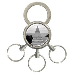 Steps To Success Follow 3 Ring Key Chains by FrontlineS