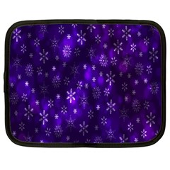 Bokeh Background Texture Stars Netbook Case (xl)