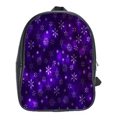 Bokeh Background Texture Stars School Bags(large)