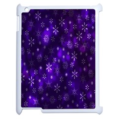 Bokeh Background Texture Stars Apple Ipad 2 Case (white) by Amaryn4rt
