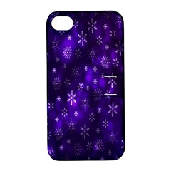 Bokeh Background Texture Stars Apple Iphone 4/4s Hardshell Case With Stand by Amaryn4rt