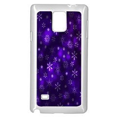 Bokeh Background Texture Stars Samsung Galaxy Note 4 Case (white) by Amaryn4rt