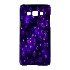 Bokeh Background Texture Stars Samsung Galaxy A5 Hardshell Case  by Amaryn4rt