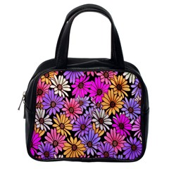 Floral Pattern Classic Handbags (one Side) by Amaryn4rt