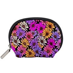 Floral Pattern Accessory Pouches (small)  by Amaryn4rt