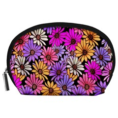 Floral Pattern Accessory Pouches (large)