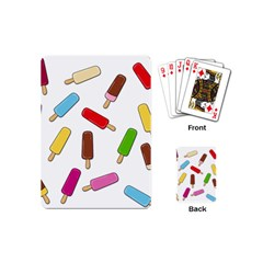 Ice Cream Pattern Playing Cards (mini)