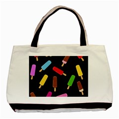 Decorative Ice Cream Pattern Basic Tote Bag (two Sides) by Valentinaart