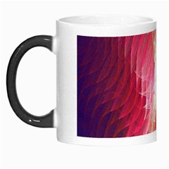 Fractal Red Sample Abstract Pattern Background Morph Mugs by Amaryn4rt
